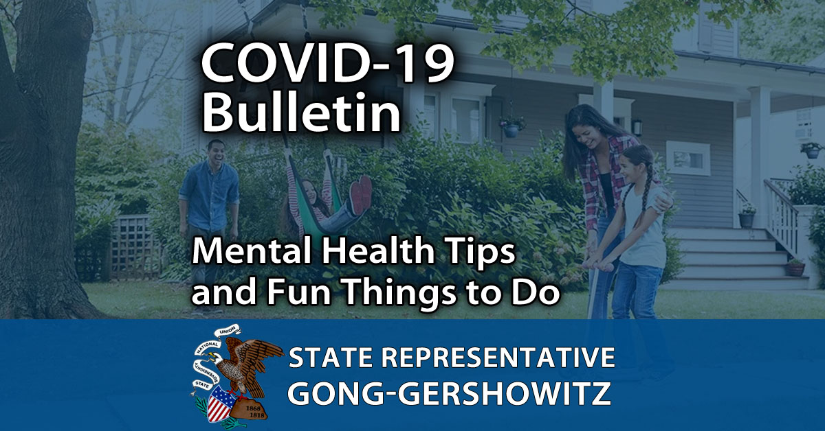 COVID-19 Bulletin #8: Mental Health Tips and Fun Things to Do