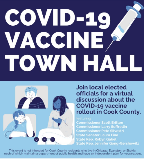 Join Us for a COVID-19 Vaccine Town Hall on Feb. 2nd, 7pm