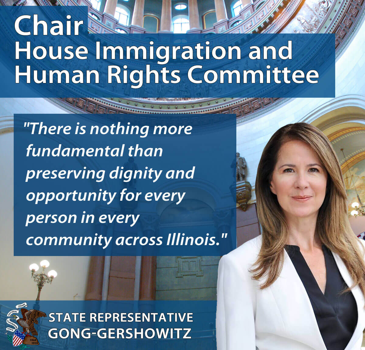 Gong-Gershowitz Named Chair of House Immigration and Human Rights Committee, Vice Chair of Judiciary Civil